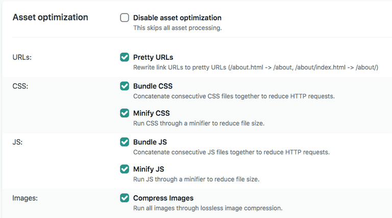 Netlify asset optimization